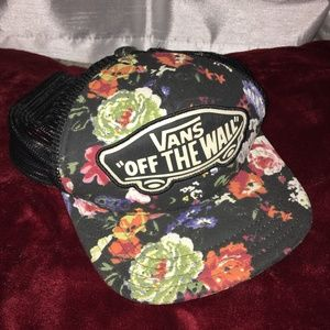 Vans Off The Wall Floral Snapback